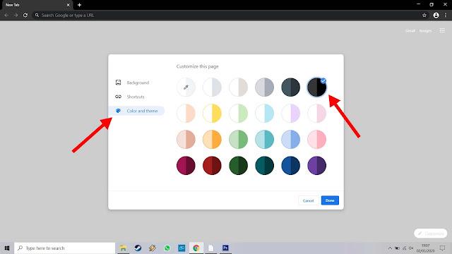 Fitur Mode Malam pada Google Chrome Windows 10