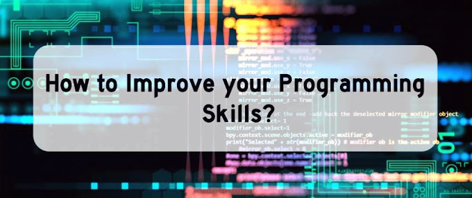 How to Improve Your Coding Skills