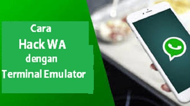 Cara Hack WA dengan Terminal Emulator
