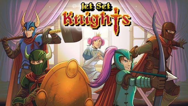 Jet Set Knights v1.0 NSP XCI NSZ For Nintendo Switch