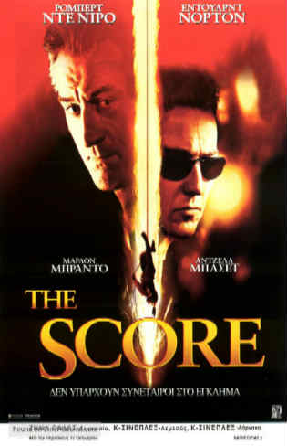 The Score 2001 BluRay 400MB Hindi Dual Audio 480p Watch Online Full Movie Download bolly4u