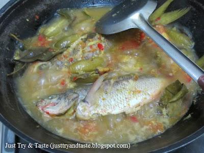 Resep Gulai Ikan Ekor Kuning JTT