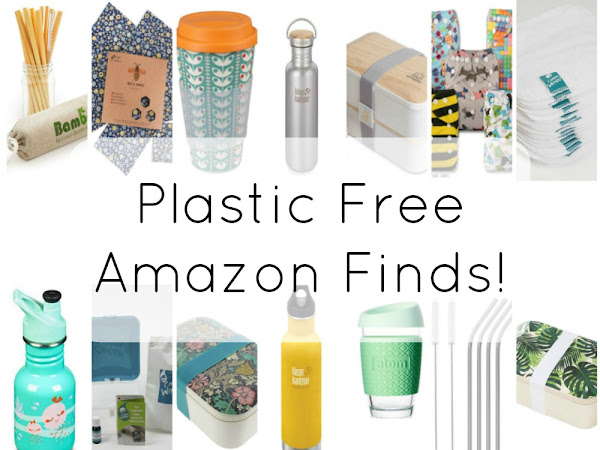 Plastic Free Amazon Finds!
