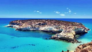 Isola dei conigli di Lampedusa