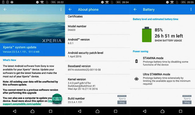 Sony Mendapat Update Android Marshmallow Beta