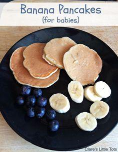 Banana Pancakes for Babies Recipe