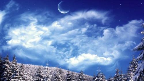Убывающая Луна в январе 2020 года