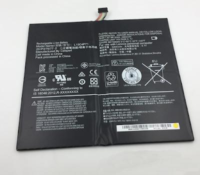 40Wh L15C4P71 Batterij voor Lenovo MIIX 700 MIIX 700-12ISK Series 5500mAh 7.6V
