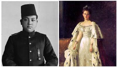 Kisah Cinta Sultan Syarif Kasim II dan Ratu Wilhelmina