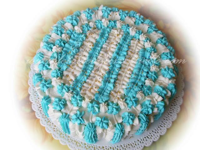 (SAP) Torta azzurra tutta panna