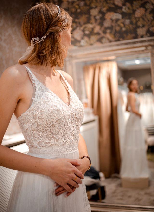 come scegliere un vestito da sposa