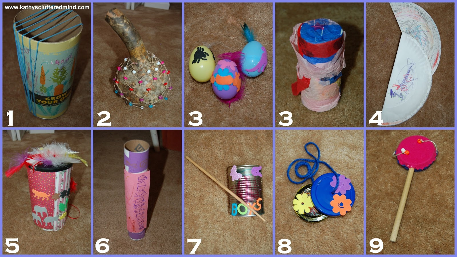 Kathys Cluttered Mind: 10 Easy/Inexpensive Instruments To Make With