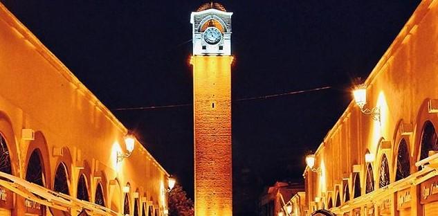 adana'da gezilecek yerler saat kulesi