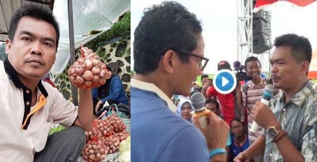 Tuduh Sandi Uno Bersandiwara soal Petani Bawang, Guntur Romli Ditantang ke Brebes