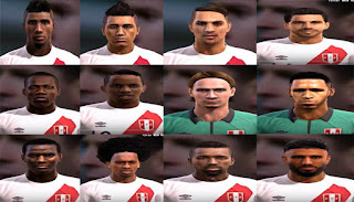 Facepack Seleccion Peru Pes 2013