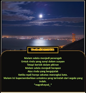 gambar kata malam indah