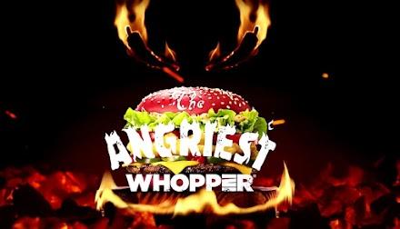 Burger King präsentiert den 'Angriest Whopper' | Eine verdammt scharfe Sache | Anzeige