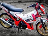 Modifikasi + Cutting Sticker Satria Fu New All Special