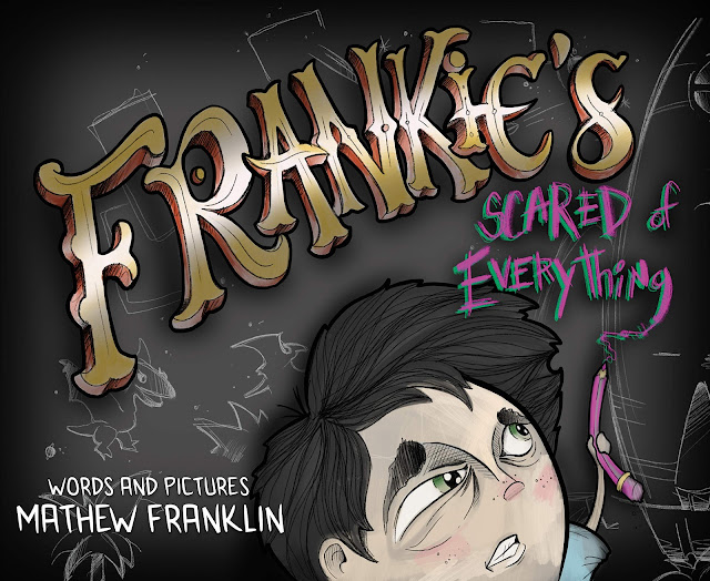 """Frankie's Scared of EVERYTHING"" by Tattoo Artist Mathew Franklin + Giveaway"