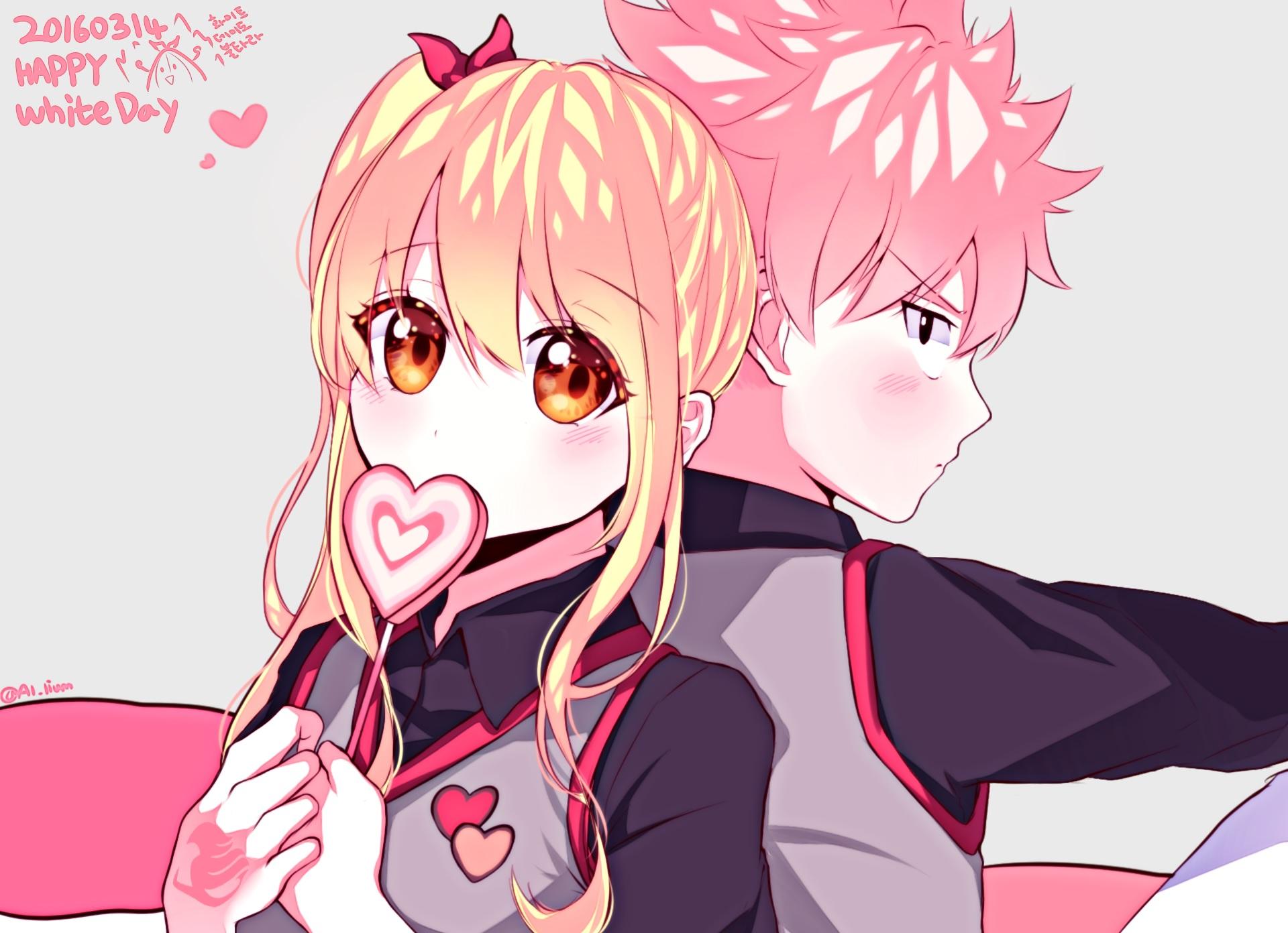 Natsu Dragneel X Lucy Heartfillia wallpaper