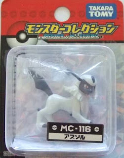 Absol Pokemon figure Takara Tomy Monster Collection MC series