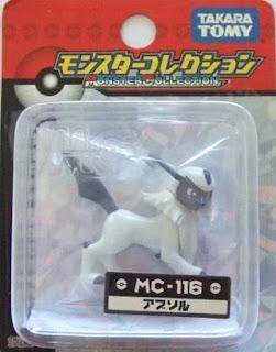 Absol Pokemon figure Takara Tomy Monster Collection MC series