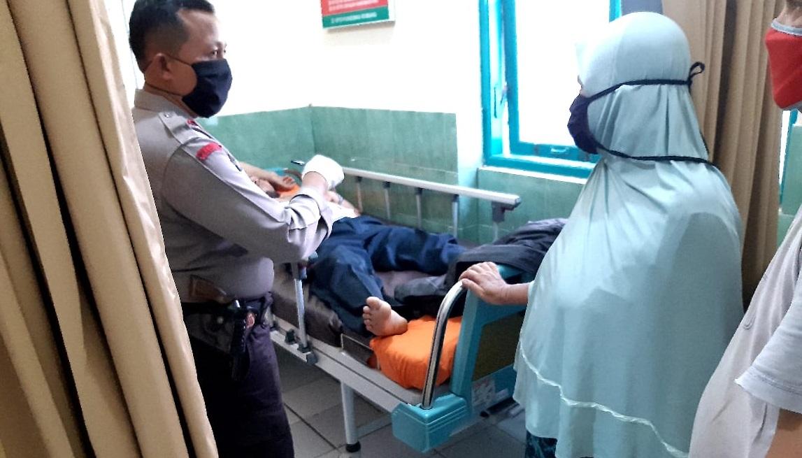 Vario Ditabrak RX King di Rembang Purbalingga, Satu Korban Tewas