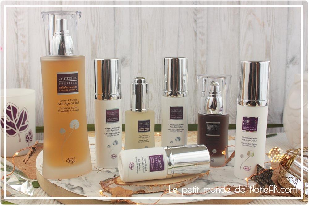 routine beauté anti-âge peau mature Global Prestige de Centella Prestige