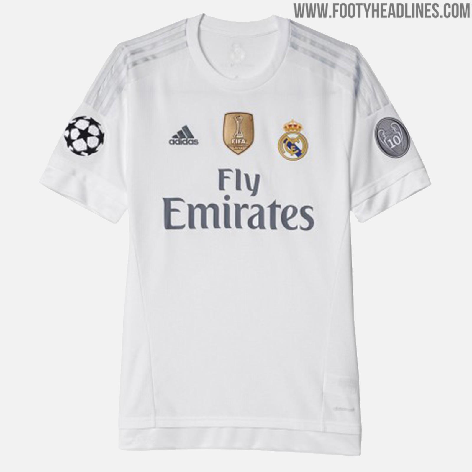 Here Are All Real Madrid Home Kits Of The Cristiano Ronaldo Era ... f51f8f57c