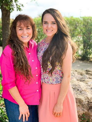 Michelle Duggar and Jinger Vuolo