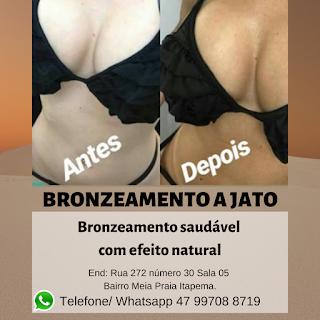 bronzeamento a jato (jet bronze)