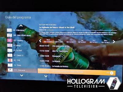 Guía de Programación Roku MiPlay.cl