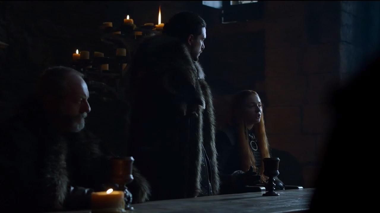 Jon Nieve es el rey del norte Imagen