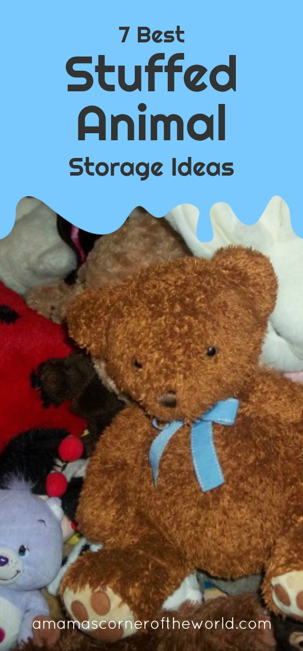 Looking for the Best Stuffed Animal Storage Ideas? Try these 7 ...