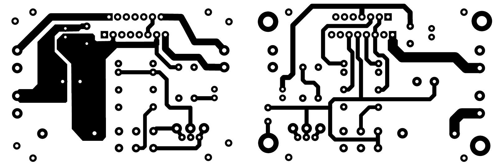 Tda7377 Amplifier Circuit 12v Stereo 30w Quad Op Amp Diagram Amplifiercircuit Connection Pcb