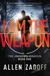 Book Review:  I Am the Weapon by Allen Zadoff