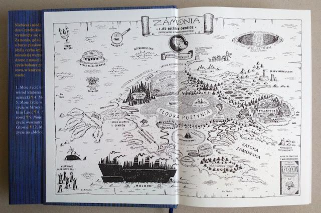 Mapa Zamonii na wyklejce