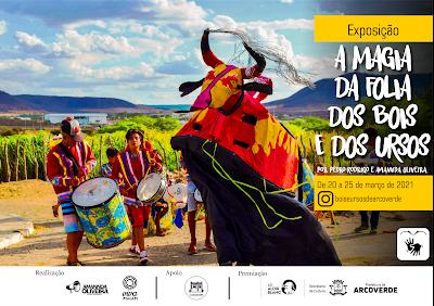 """Exposição Virtual """"A Magia da Folia dos Bois e dos Ursos"""" - A tradição carnavalesca da cidade de Arcoverde/PE"""