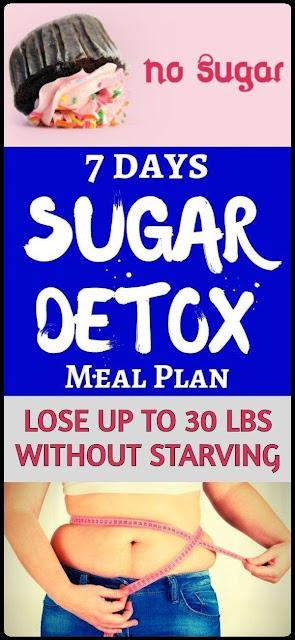 Sugar Detox Diet - Lose Up To 30 lbs In 4 Weeks