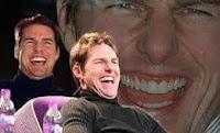 Tom Cruise riendo