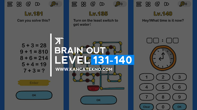 Kunci Jawaban Brain Out Level 131-140