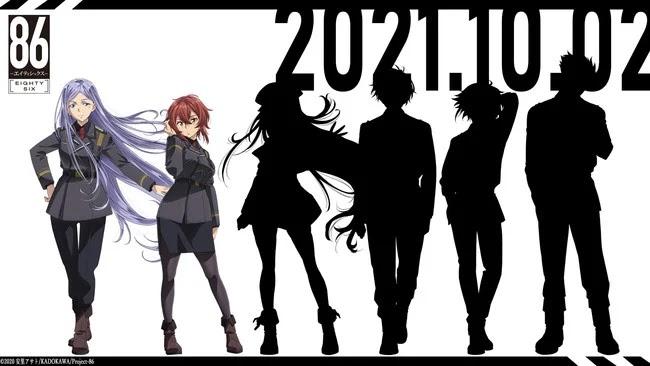 El anime 86 anuncia dos nuevos personajes: Anju Emma y Kurena Kukumila
