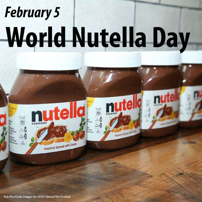 World Nutella Day Wishes for Instagram