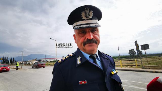 """Διευθυντης Αστυνομίας Αργολίδας: """"Τηρήστε τα μέτρα ειναι θέμα ζωής και θανάτου"""" (βίντεο)"""