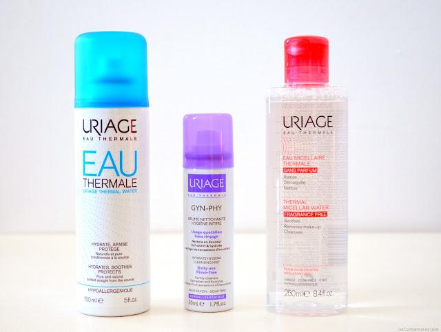 soin - Uriage - eau - eau thermale - peau - cosmétiques