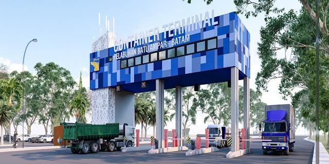 Kepala BP Batam Tinjau Pembangunan Pelabuhan Batu Ampar yang Terintegrasi dengan Auto Gate System