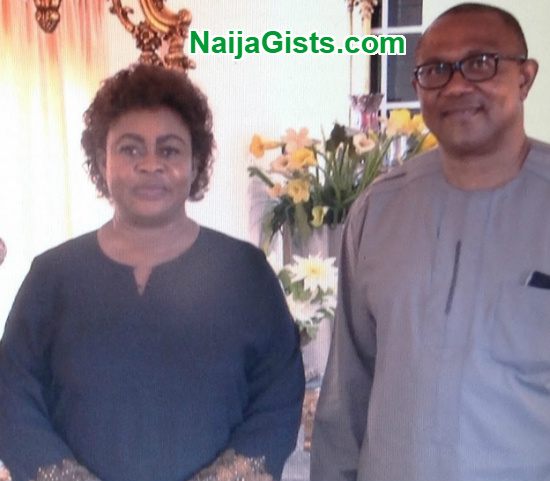 governor obi visit stella oduah