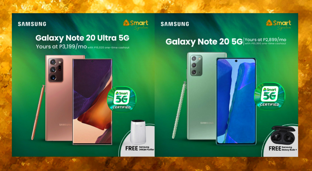Smart Signature Samsung Galaxy Note20 Ultra 5G Postpaid Plans