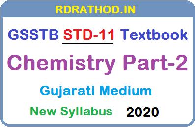 GSSTB Textbook STD 11 Chemistry Part-2
