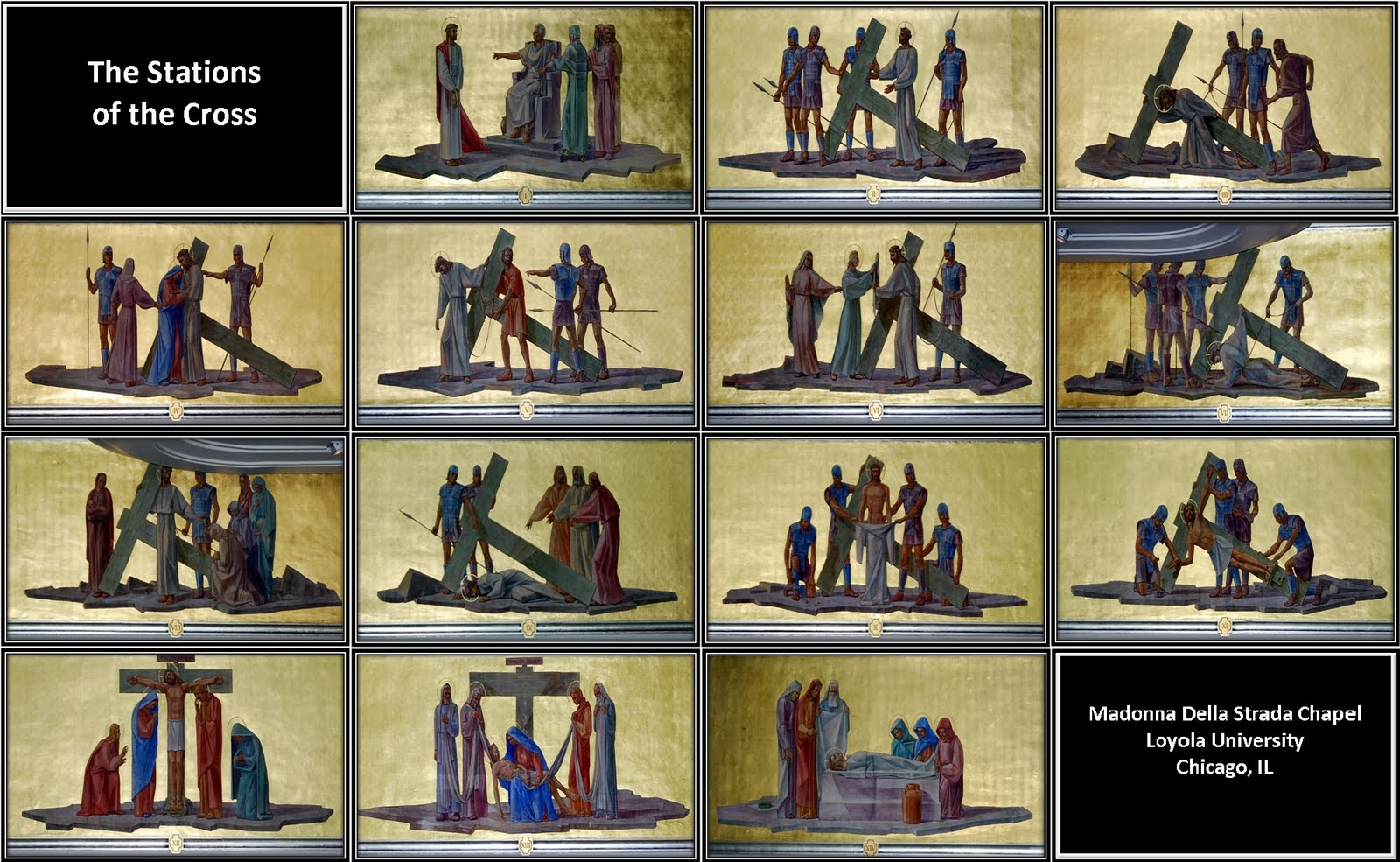 Read Your Bible The Stations Of The Cross